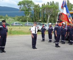 pompiers de la Raye