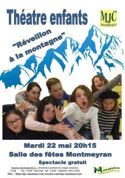 affiche theatre enfants Montmeyran 2018