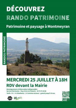 AFFICHERando Patrimoine_MONTMEYRAN (2)