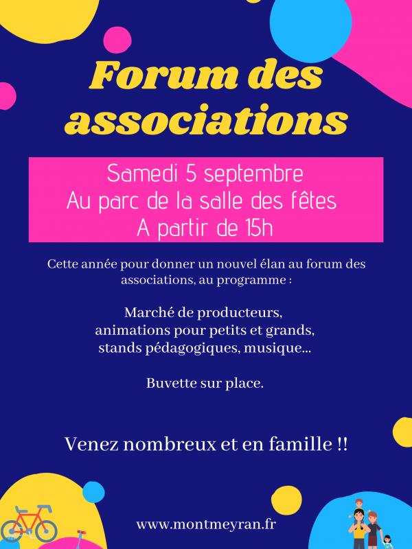 affiche forum asso 2020