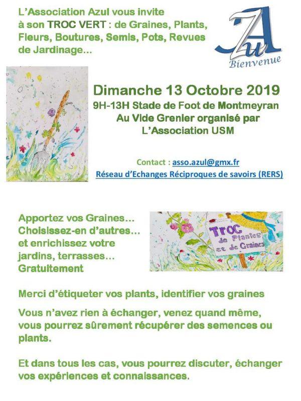Affiche Troc Vert 2019 Automne