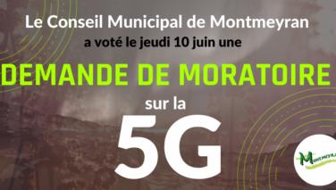 5G: Demande de moratoire