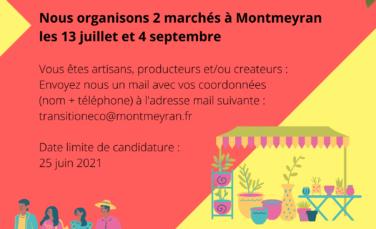 Marchés à Montmeyran