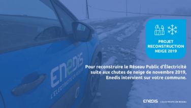 Enedis : travaux d'enfouissement du réseau électrique