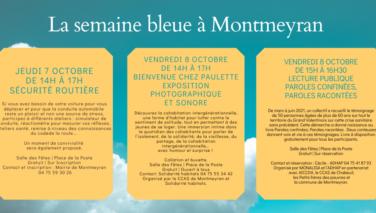 La semaine bleue 2021 à Montmeyran