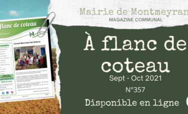 À flanc de coteau n°357 – Septembre / Octobre 2021